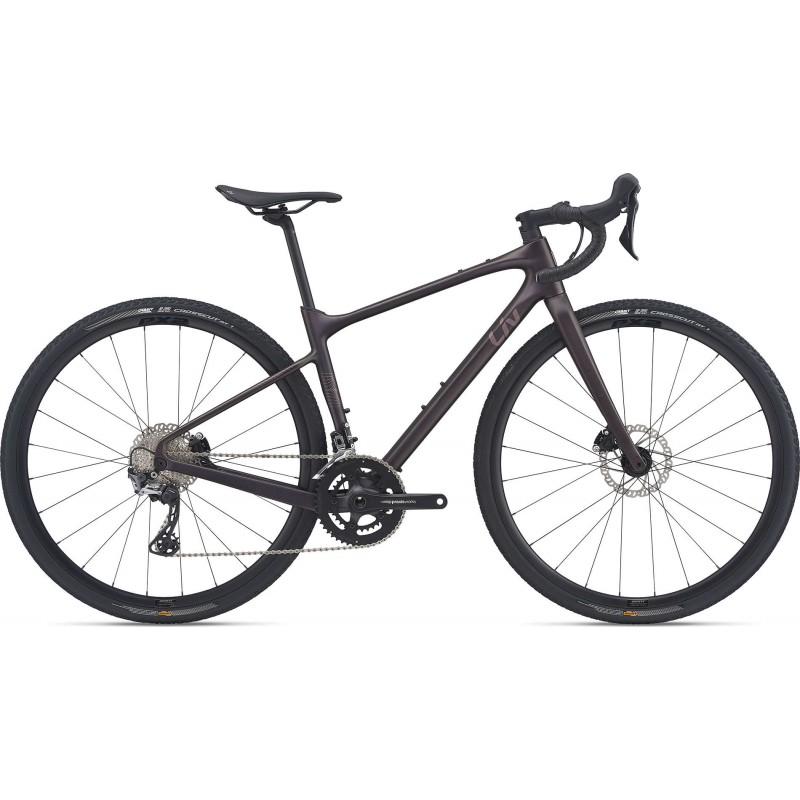 Liv Devote Advanced 2 2021 un gravel pour femme chez Val De Loire Vélo Taille XS