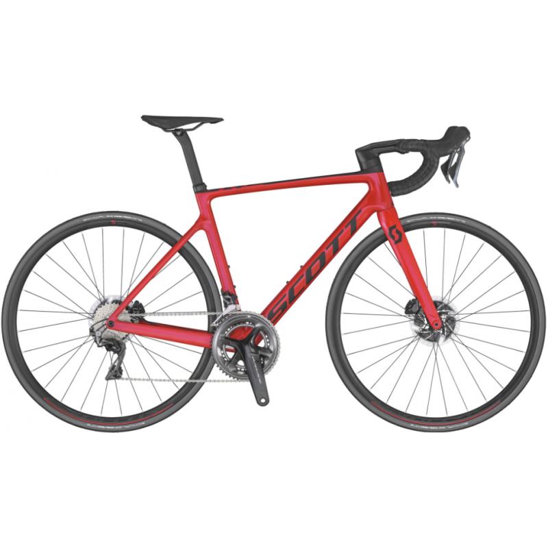 Scott Addict RC 10 Red - Val de Loire Vélo Tours et Blois Taille M