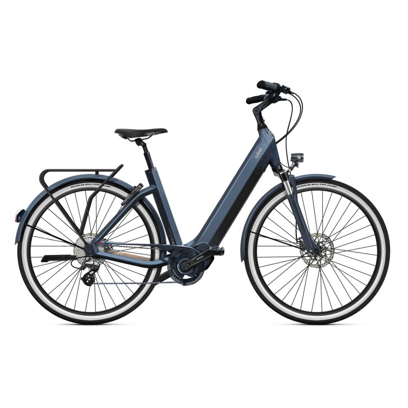 """O2feel iSwan City Boost 6.1 - Vélo électrique - Val de Loire Vélo Tours - Blois Batterie  iPowerPack 432 Wh Taille S - Roues 26"""" Couleur Gris Anthracite"""