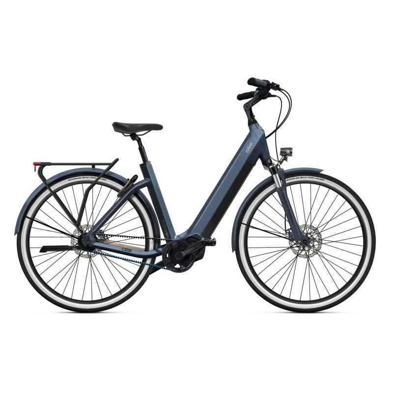 """O2feel iSwan City Boost 7.1 - Vélo électrique - Val de Loire Vélo Tours - Blois Batterie  iPowerPack 432 Wh Taille S - Roues 26"""" Couleur Gris Anthracite"""