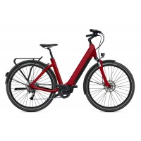 """O2feel iSwan Explorer Boost 6.1 Batterie  iPowerPack 432 Wh Taille S - Roues 26"""" Couleur Rouge Brique"""