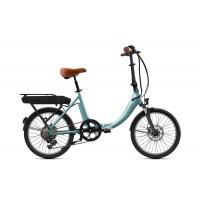 """O2feel Peps Fold Origin 2.1 - Vélo pliable - Val de Loire Vélo Tours et Blois Couleur Gris Perle Batterie PowerPack 400 (432 Wh) Taille Unique - Roues 20"""""""