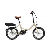 """O2feel Peps Fold UP 3.1 - Vélo pliable - Val de Loire Vélo Tours et Blois Batterie PowerPack 400 (432 Wh) Couleur Blanc Lin Taille Unique - Roues 20"""""""