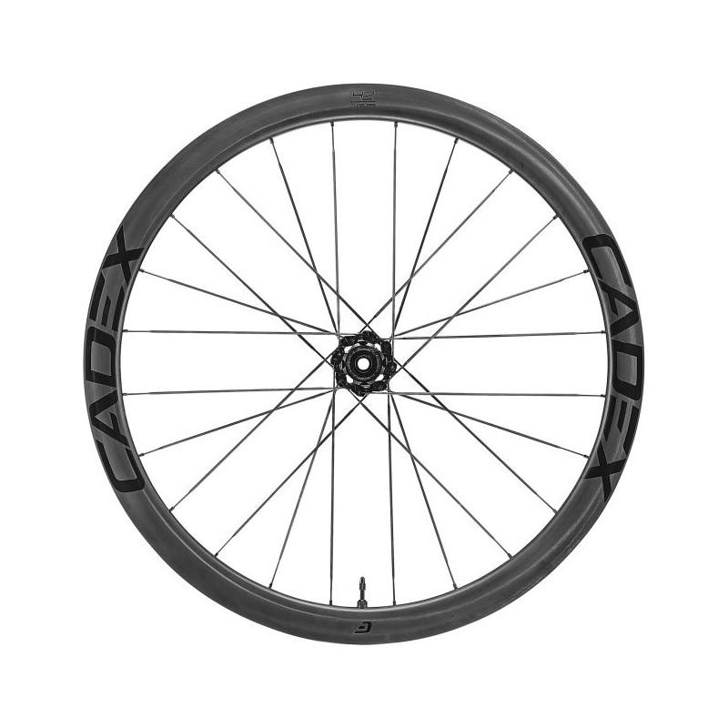 Cadex Roue arrière Tubeless 42 Disc chez Val de Loire Vélo