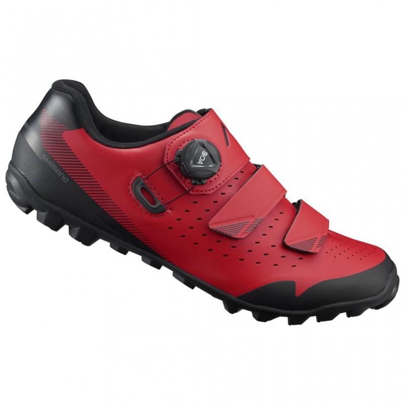 Shimano Chaussures ME400 - Val de Loire Vélo Tours-Blois Couleur Rouge Taille 40