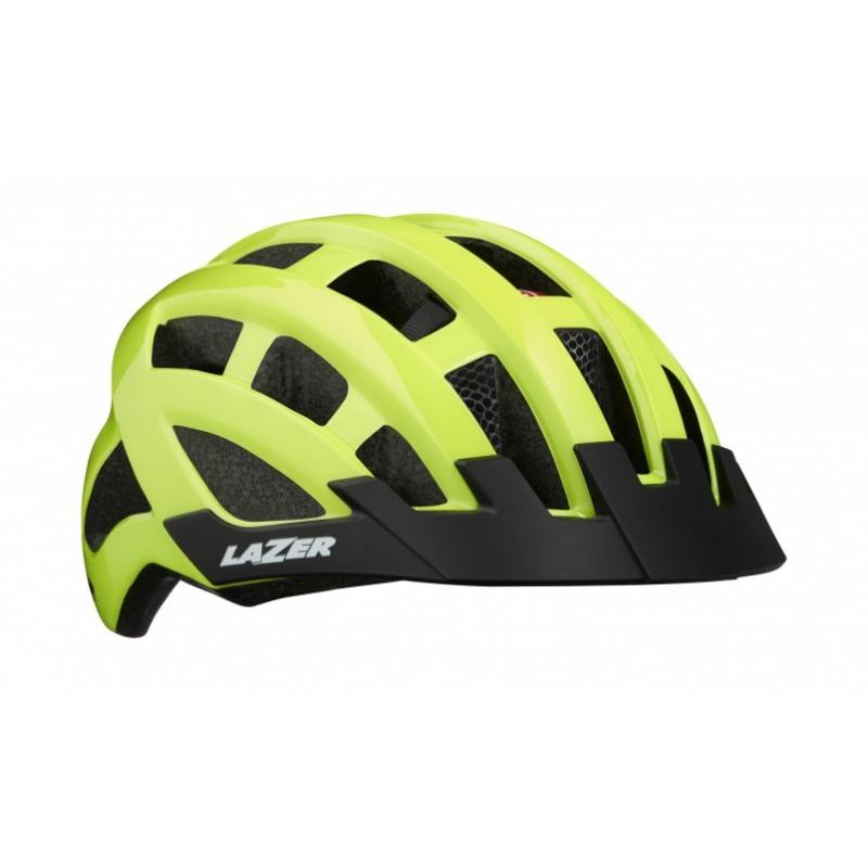 Casque Route Lazer Compact DLX Mips - Val de Loire vélo Tours-Blois Couleur Jaune